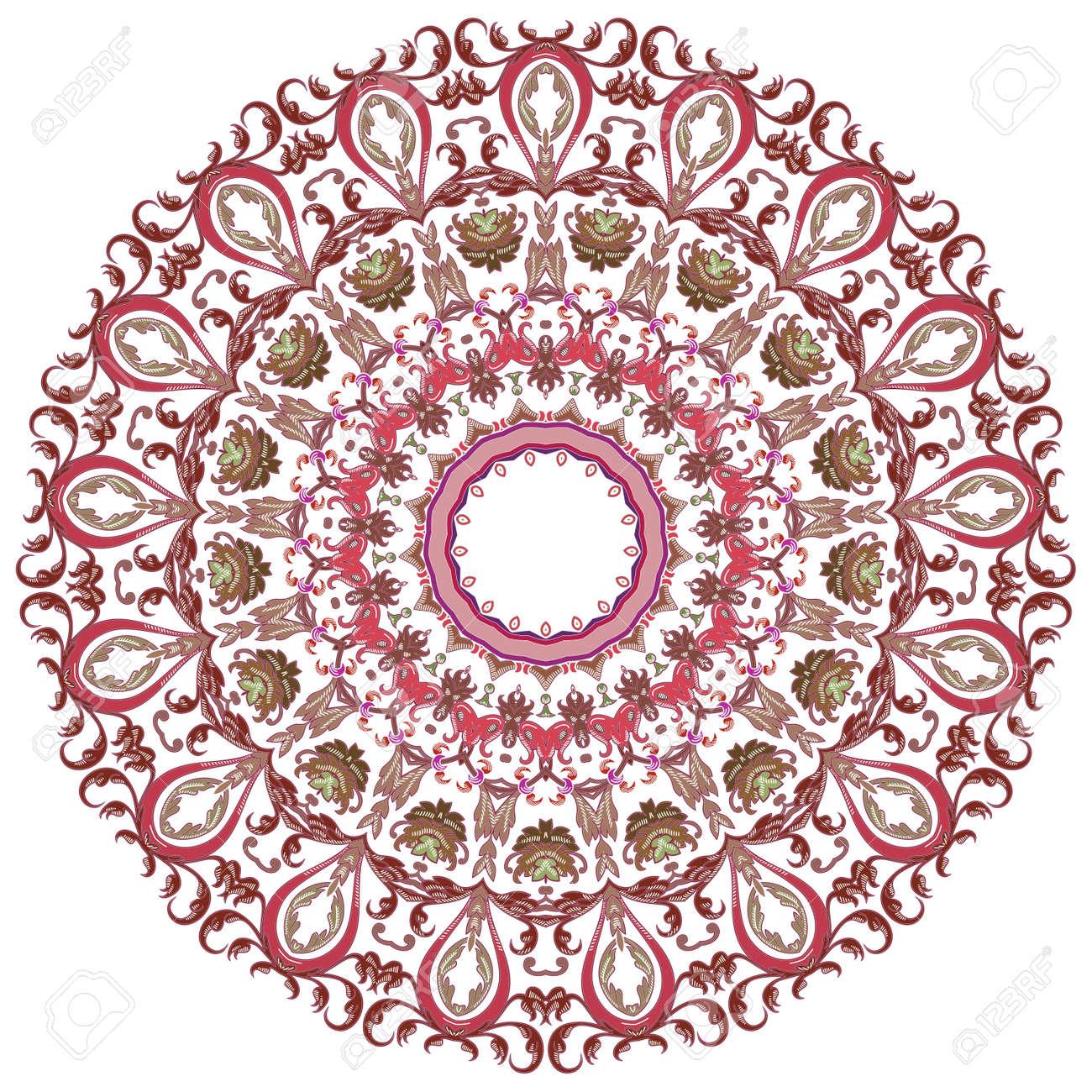 Vector of traditional Persian-Arabic-Turkish-Islamic Pattern Stock Vector - 21542990