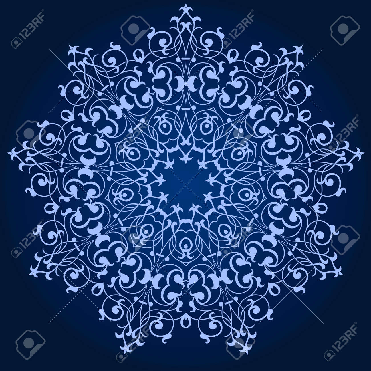 Vector of traditional Persian-Arabic-Turkish-Islamic Pattern Stock Vector - 21542995