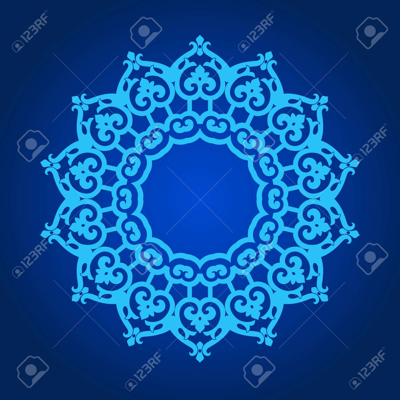 Vector of traditional Persian-Arabic-Turkish-Islamic Pattern Stock Vector - 21542997