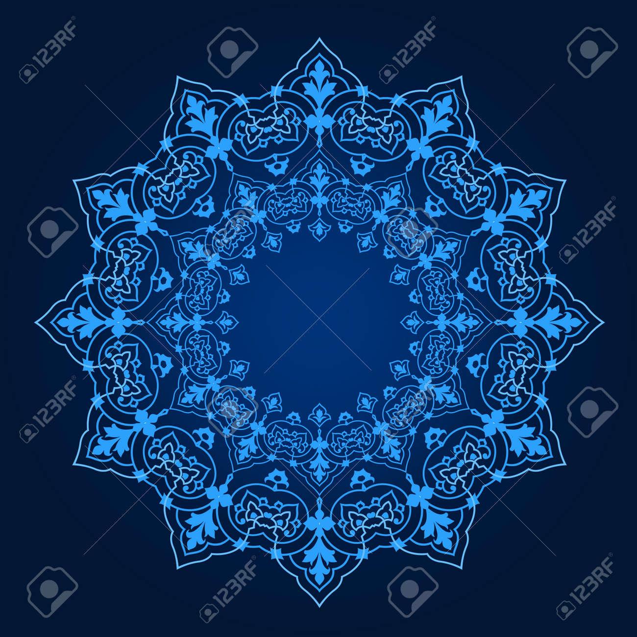 Vector of traditional Persian-Arabic-Turkish-Islamic Pattern Stock Vector - 21542999