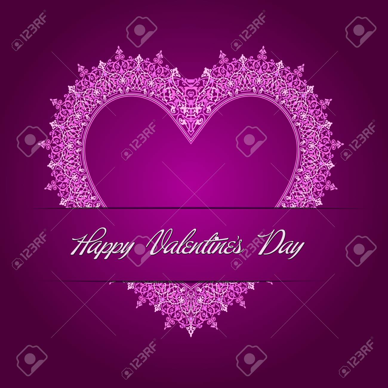 Valentine s Day Card Stock Vector - 26002207