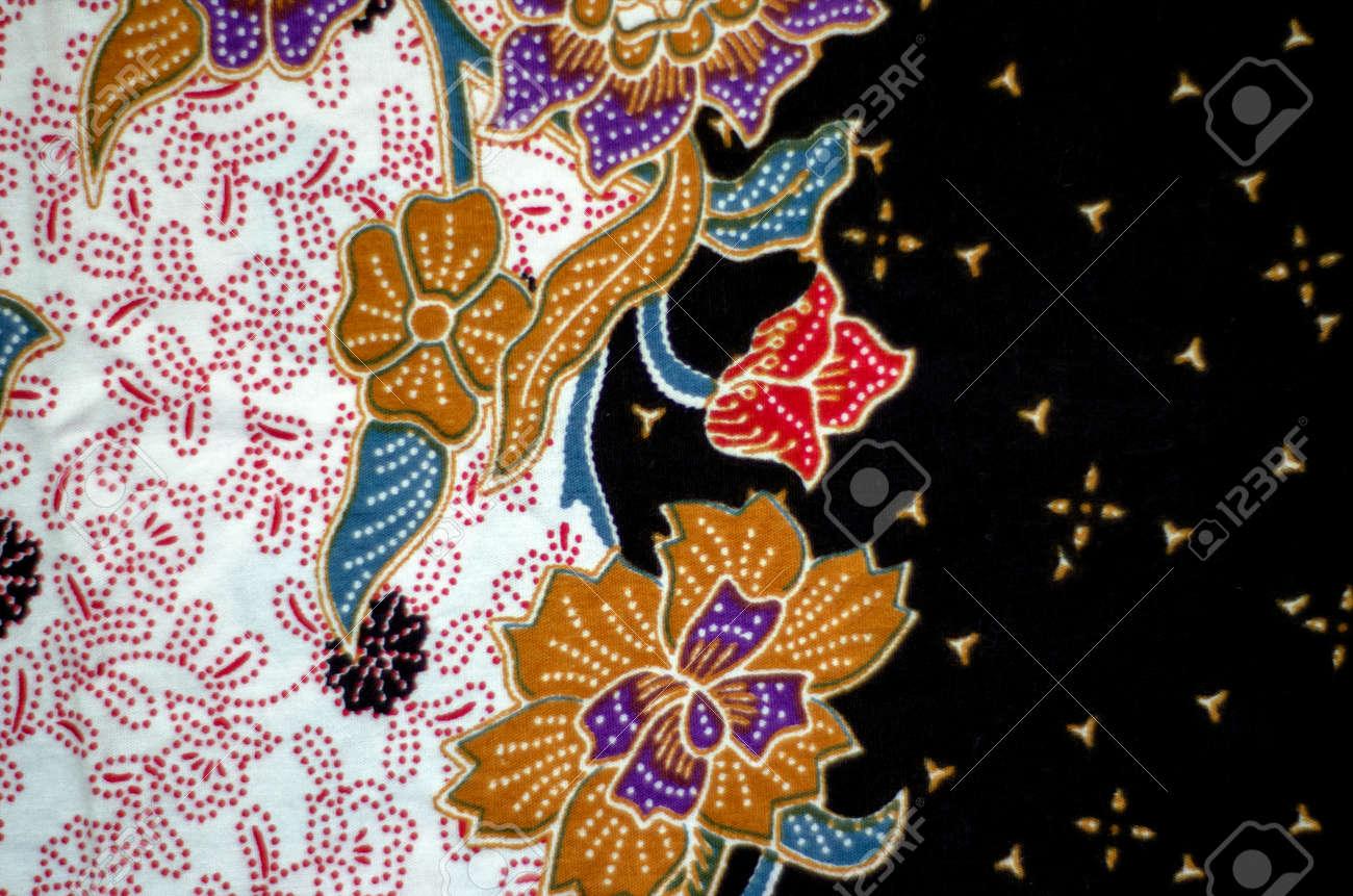 Pattern and Batik Textile Stock Photo - 17418949