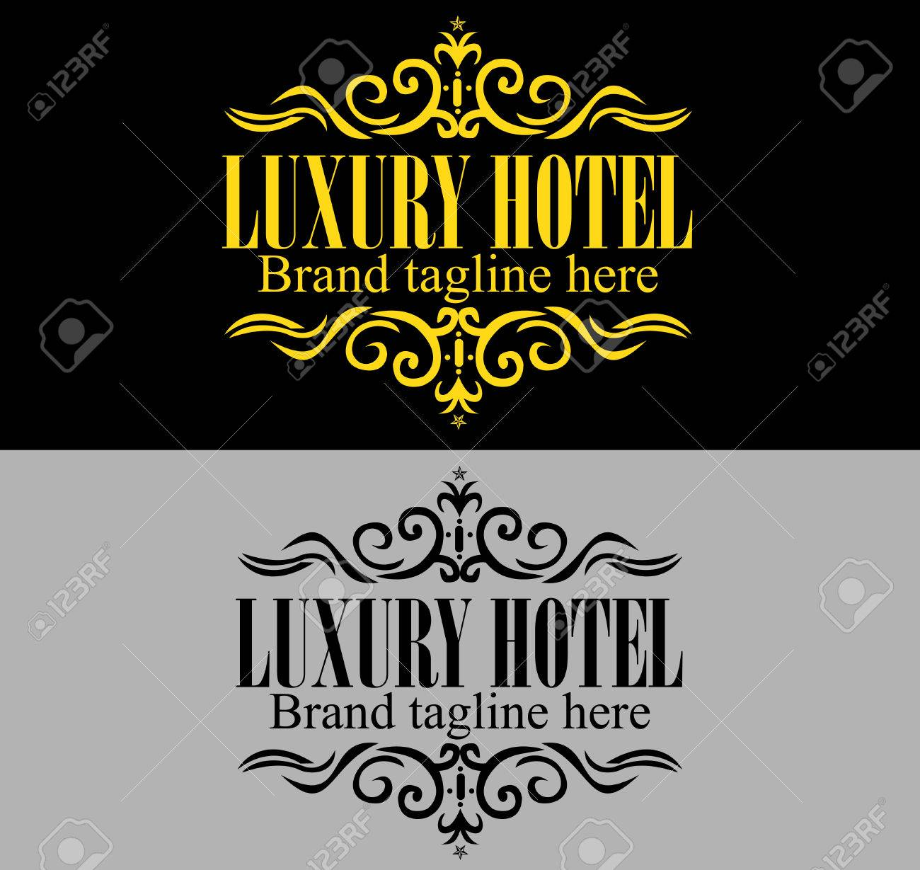 Luxurious Royal Logo Template Suitable For Businesses And Product ...