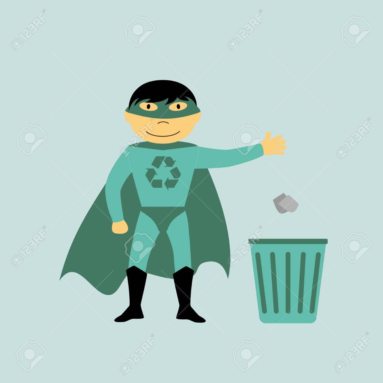 Resultado de imagen de superhéroes del reciclaje