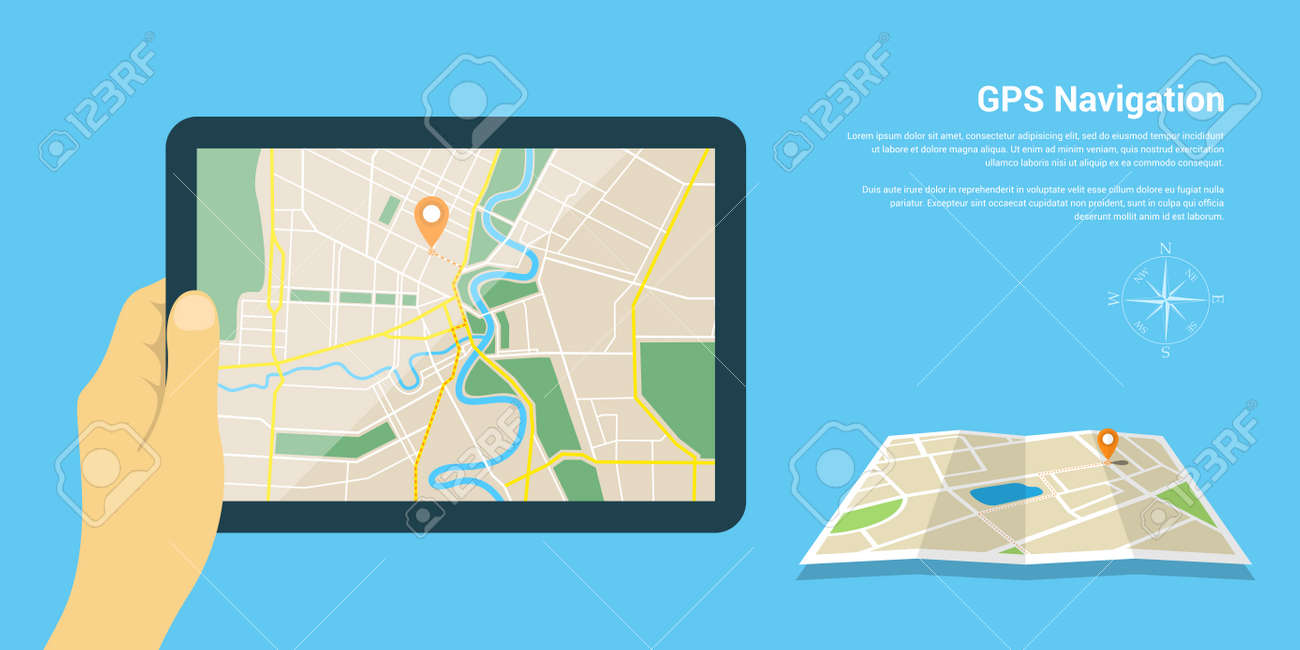 Flat Style Design Of Web Banner Template For Website Or Infographics