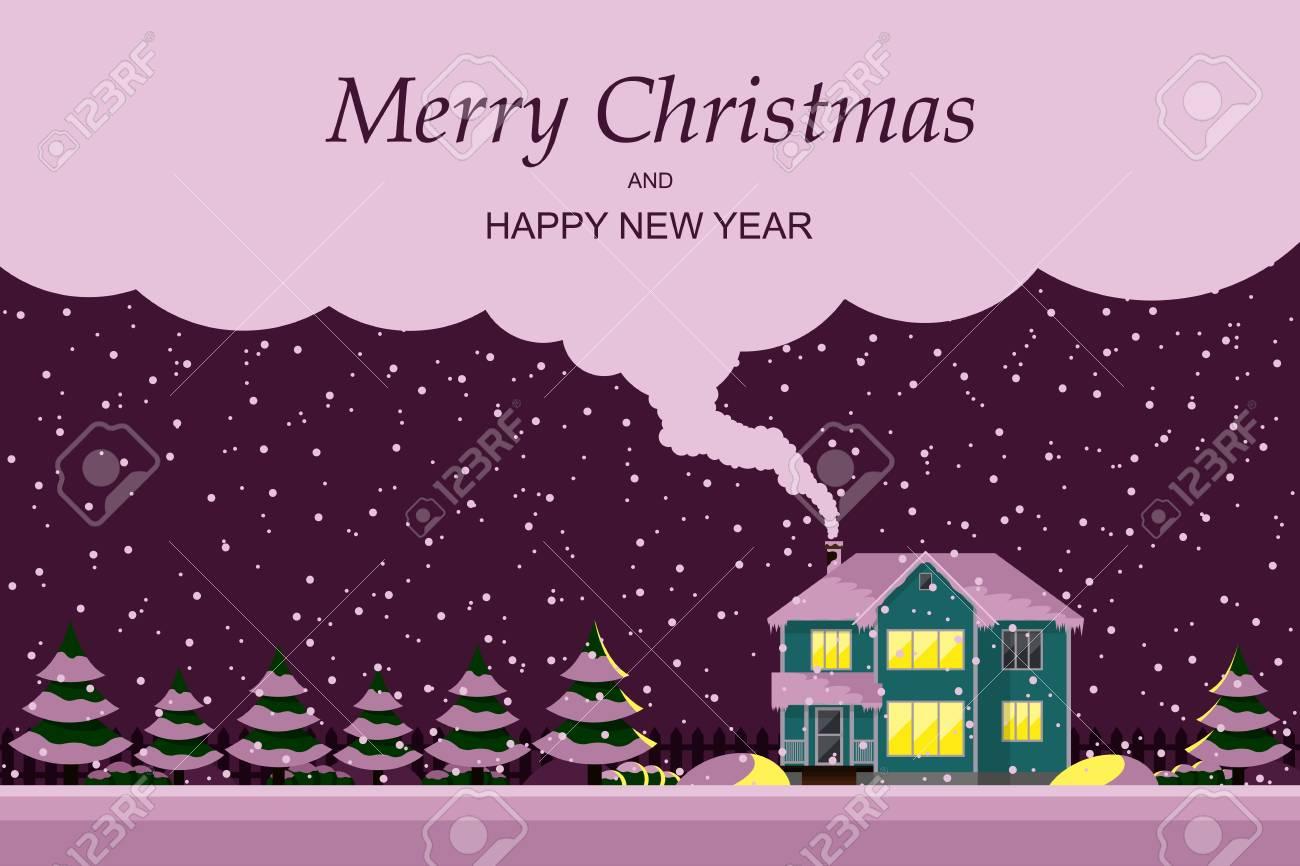 Weihnachtskarten Mit Eigenem Bild.Stock Photo