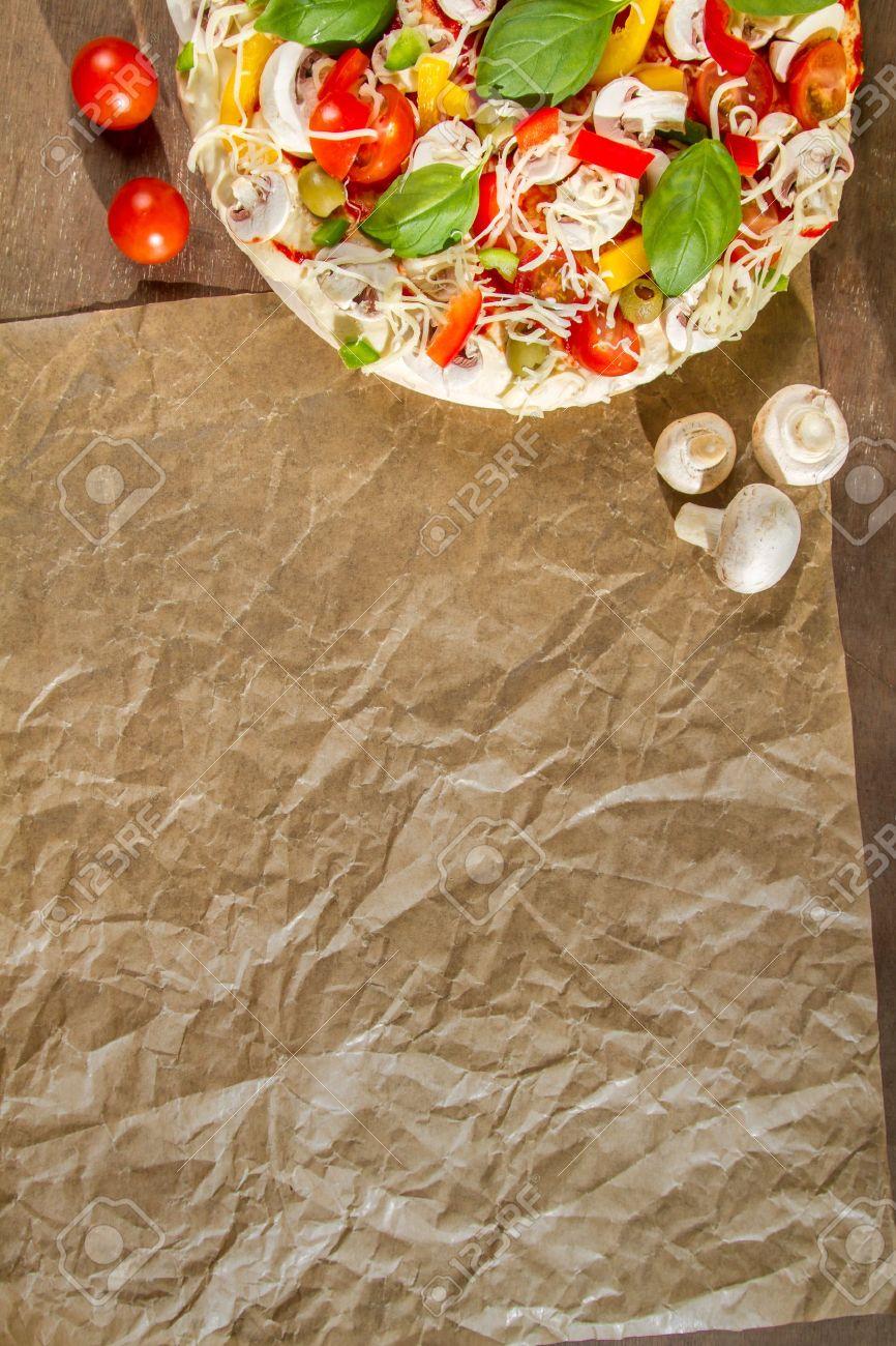 Close-up of the menu background for pizzerias No. 1 Stock Photo - 14719254