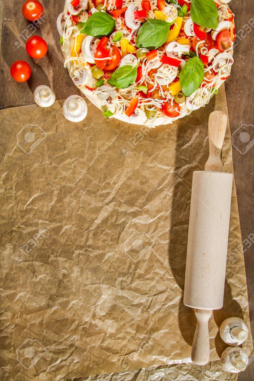 Close-up of the menu background for pizzerias No. 2 Stock Photo - 14719298