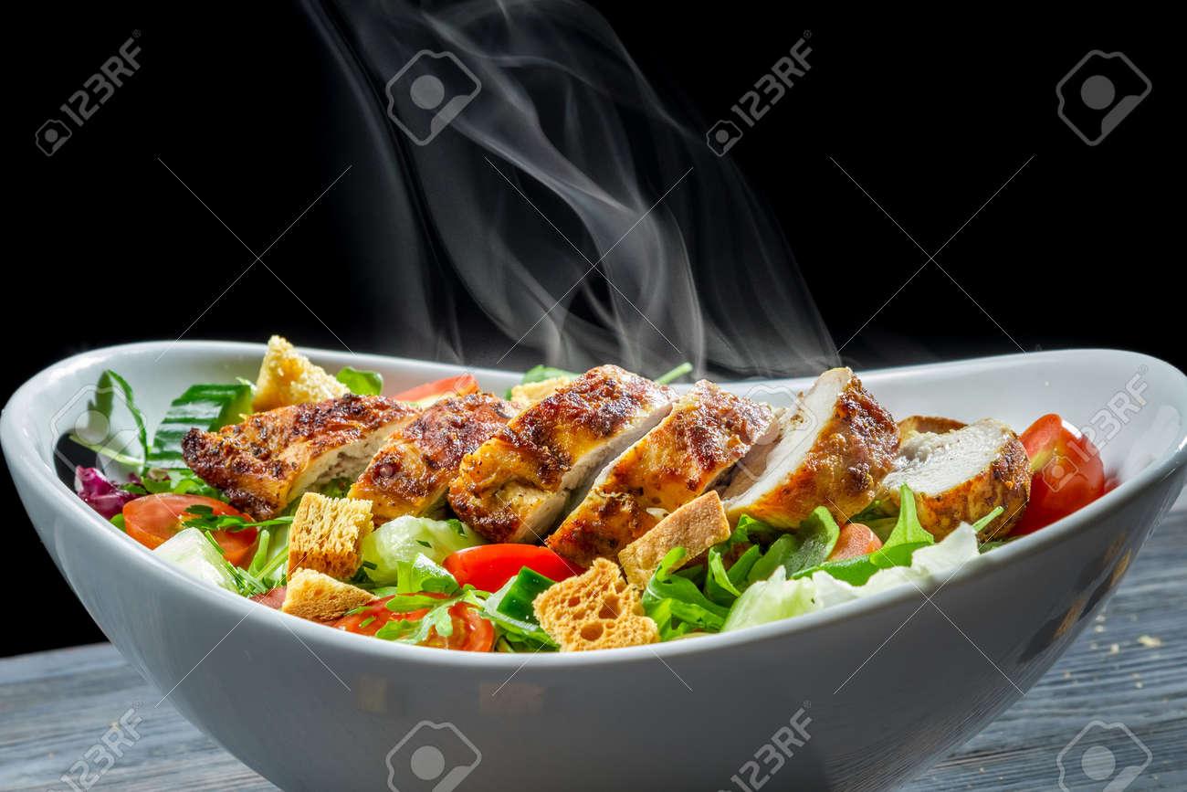 Caesar salad made of fresh vegetables Stock Photo - 18268722