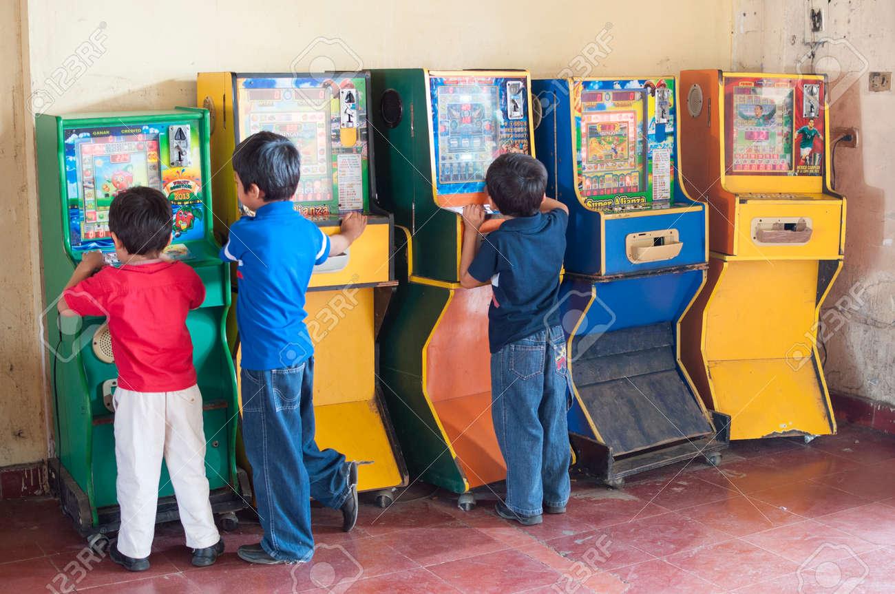 Pichucalco Chiapas Mexico 21 De Diciembre 2014 Tres Ninos Se