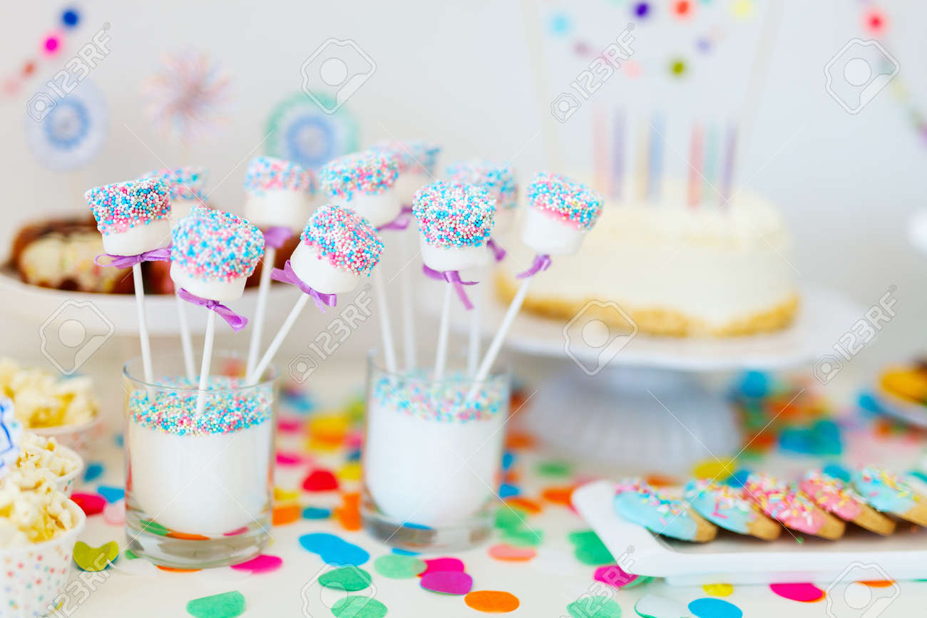 Swell Cake Candies Marshmallows Cakepops Fruits And Other Sweets Funny Birthday Cards Online Overcheapnameinfo