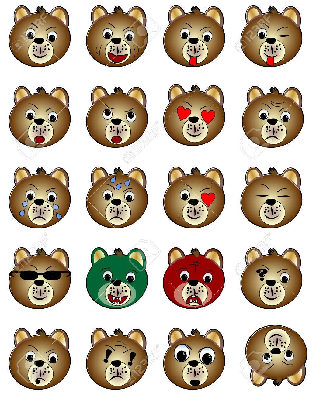teddy bear face emoticon cute teddy bear emoticon teddy bear