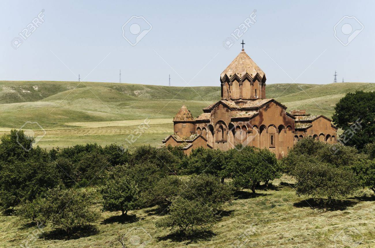 old medieval monastery complex Stock Photo - 7324359