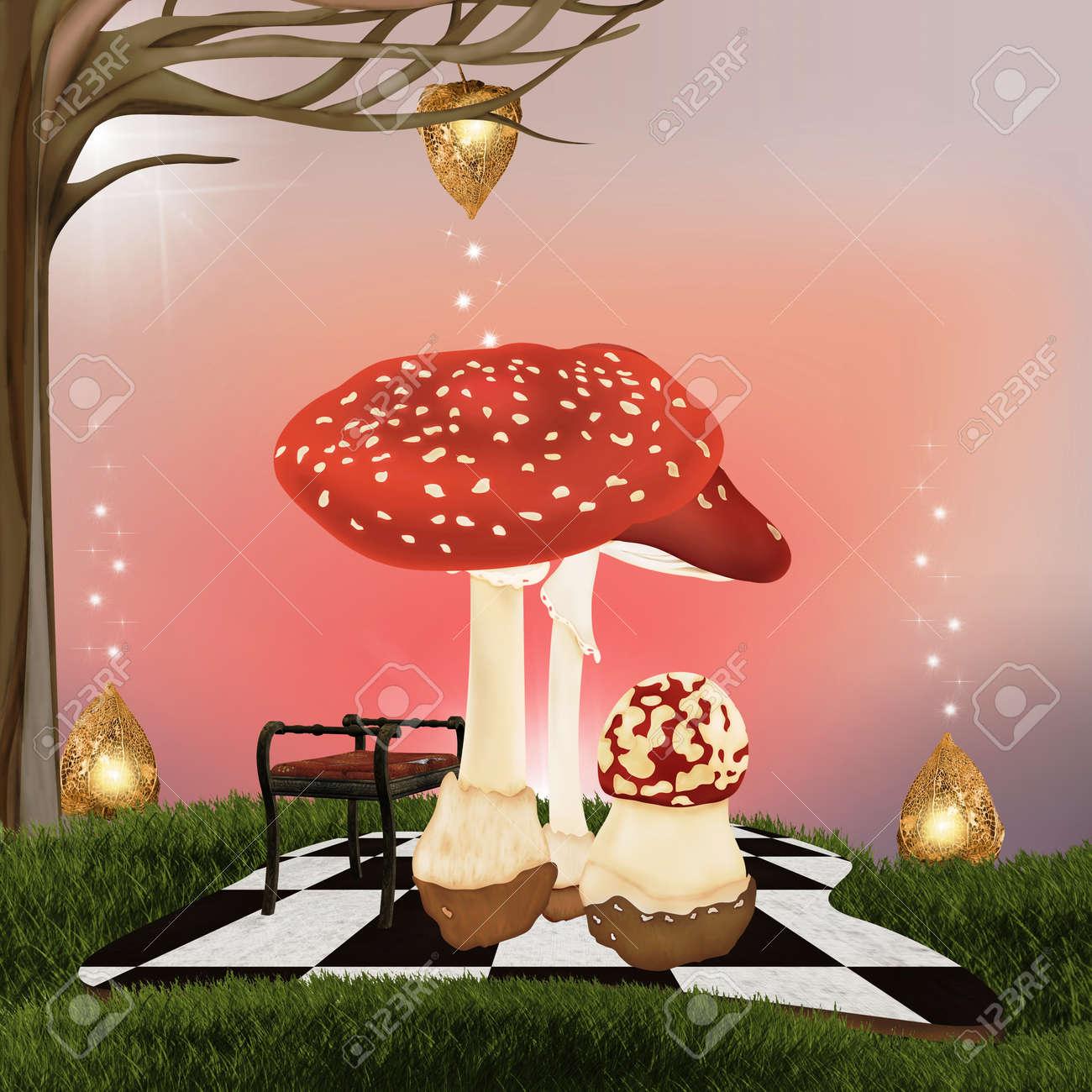 Wonderland background Stock Photo - 13511358