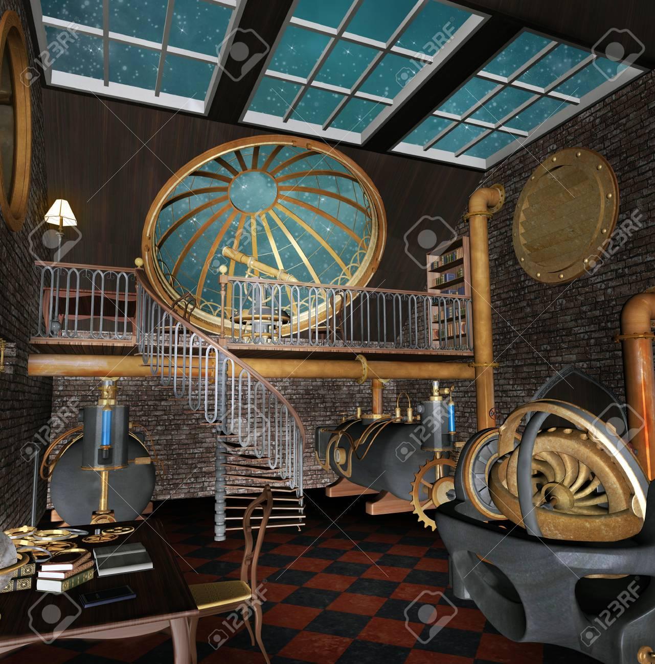 Prisoner in the room [Kalel] 99243013-steampunk-observatory
