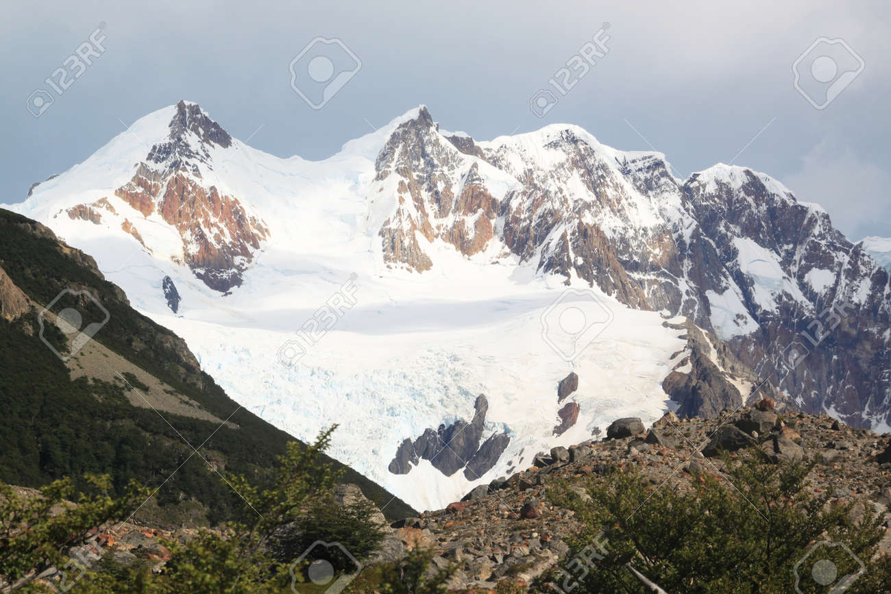 Mountain in national park near El Chalten, Argentina Stock Photo - 7640233