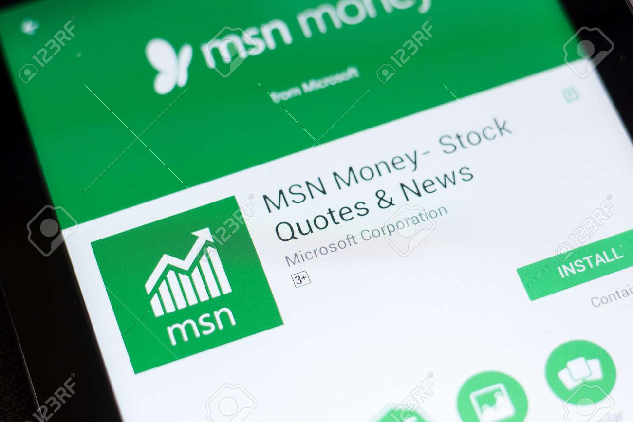 Msn Stock Quotes | Stock Photo