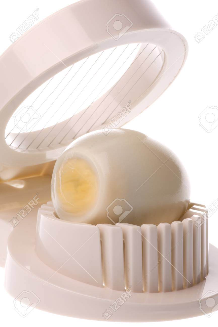 Isolated image of an egg slicer. Stock Photo - 4126820
