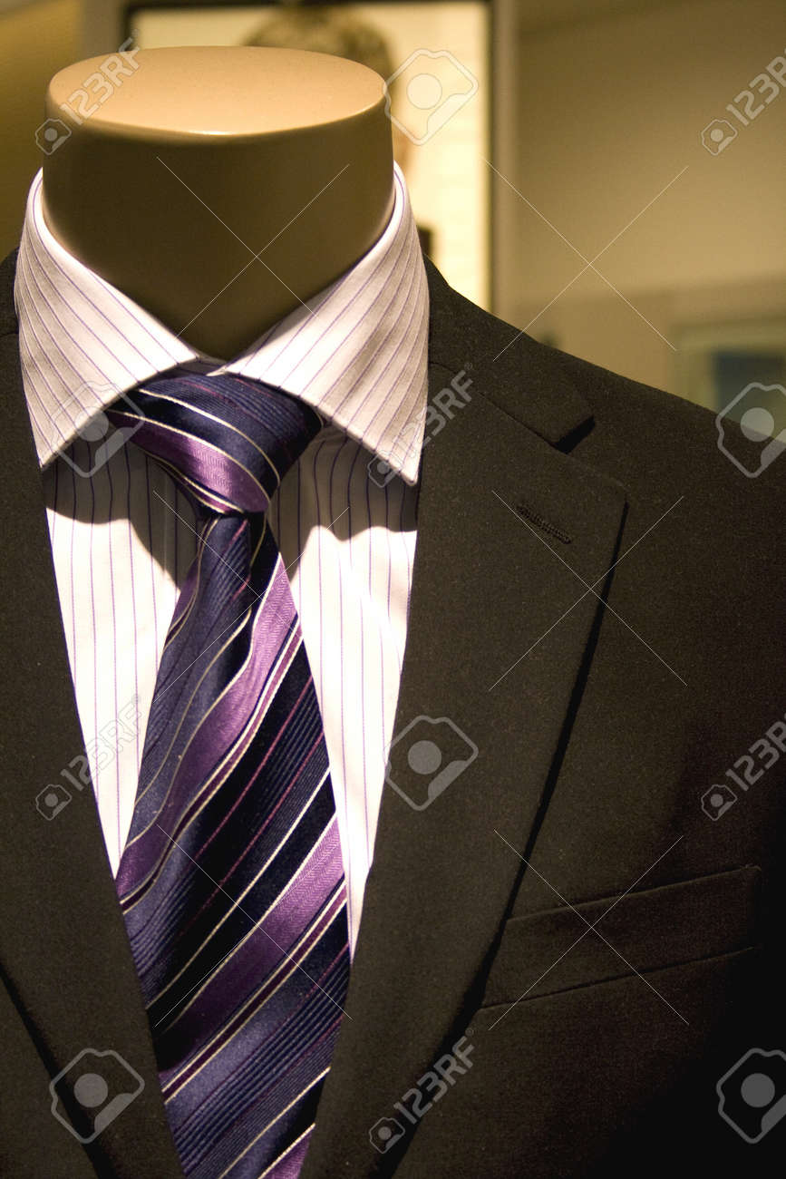 Image of a men's clothing in a shop in Malaysia. Stock Photo - 4569687