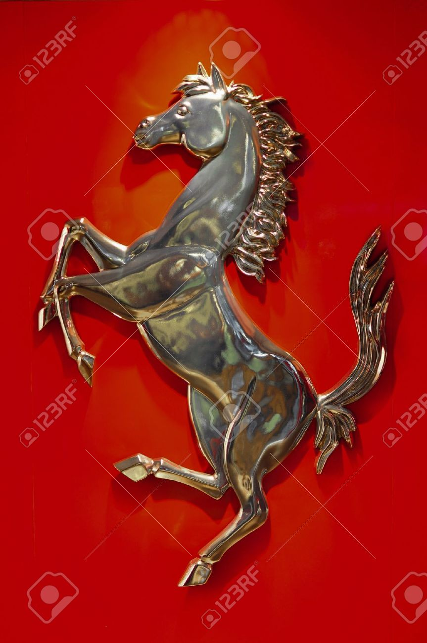The Ferrari Prancing Horse Stock Photo Picture And Royalty Free