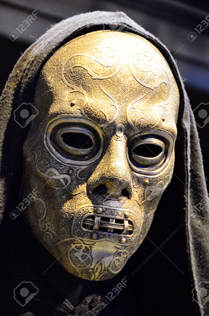 Harry Potter Death Eaters Mask At Warner Brothers Studio Stock Photo Picture And Royalty Free Image Image 21199271