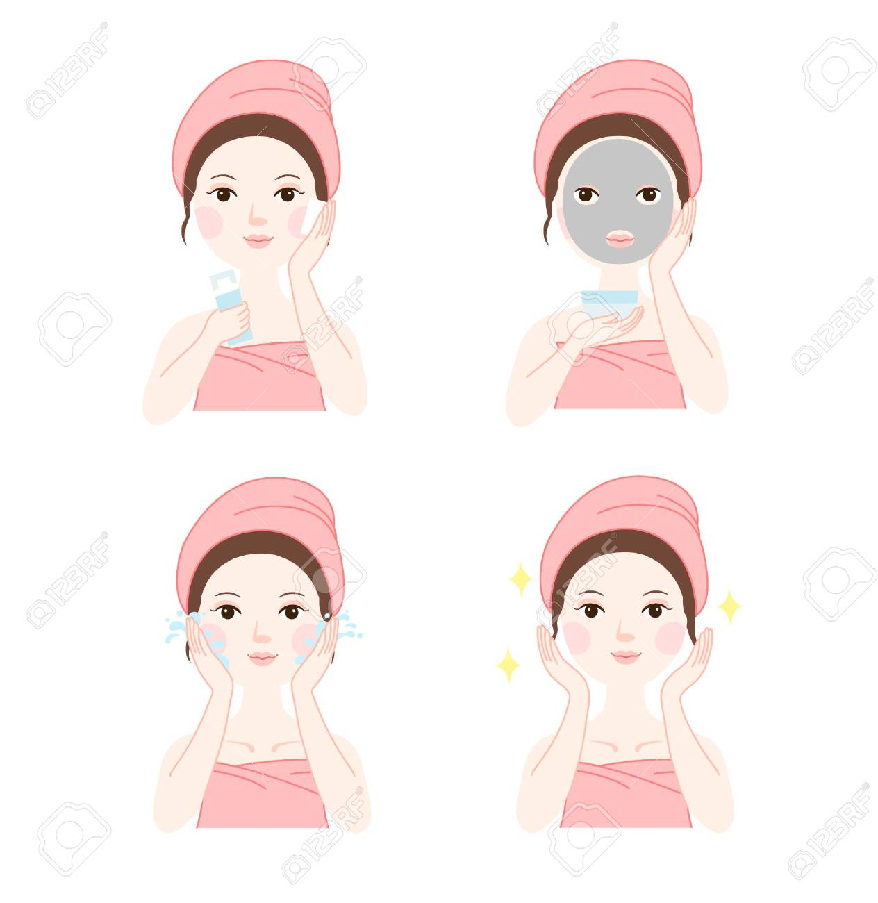 Step diagram of mud mask royalty free cliparts vectors and stock step diagram of mud mask stock vector 86226117 ccuart Gallery