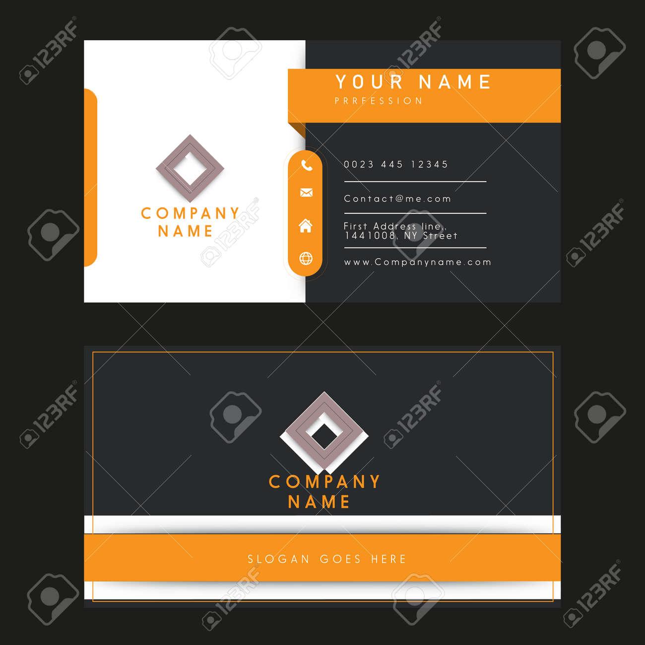 business name card illustration design - 155169275