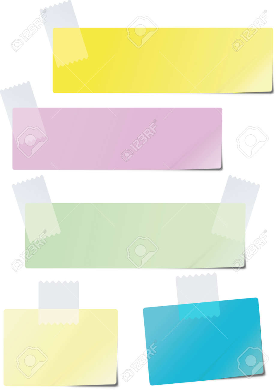 colored sticker paper