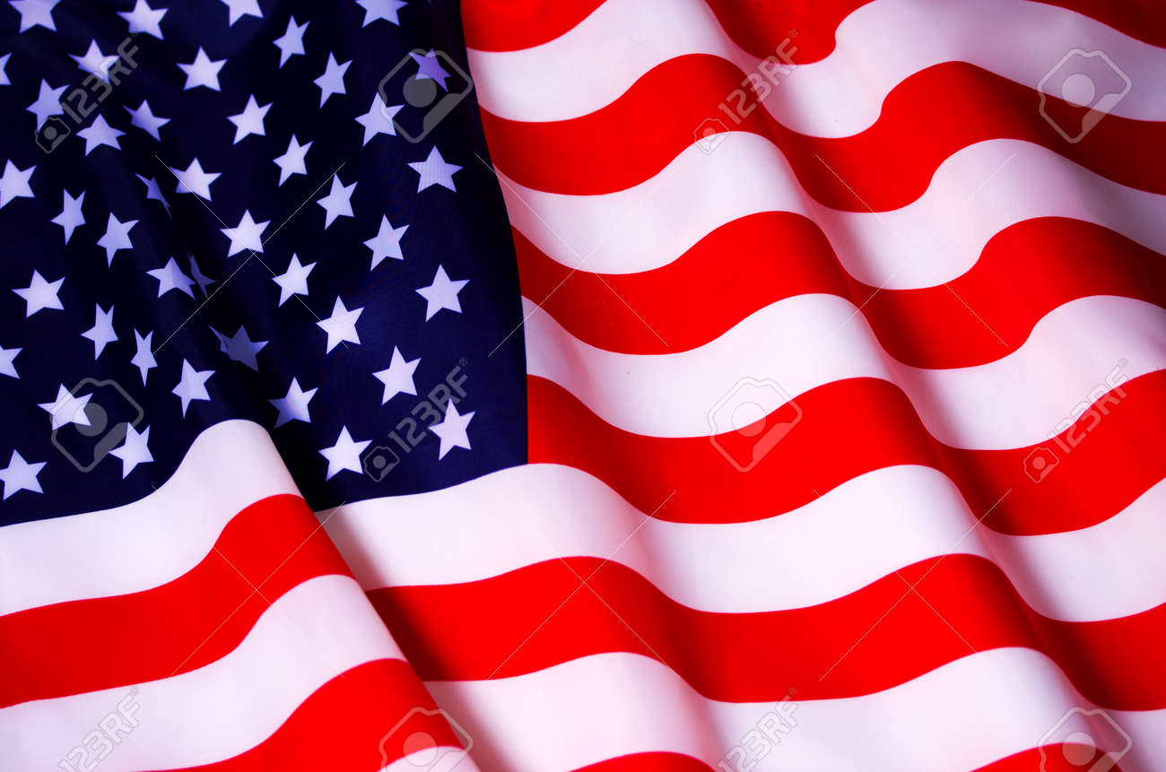 Waving American flag - 71130029