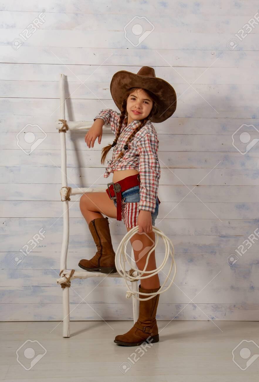 Wide-brimmed Cowboy Hat