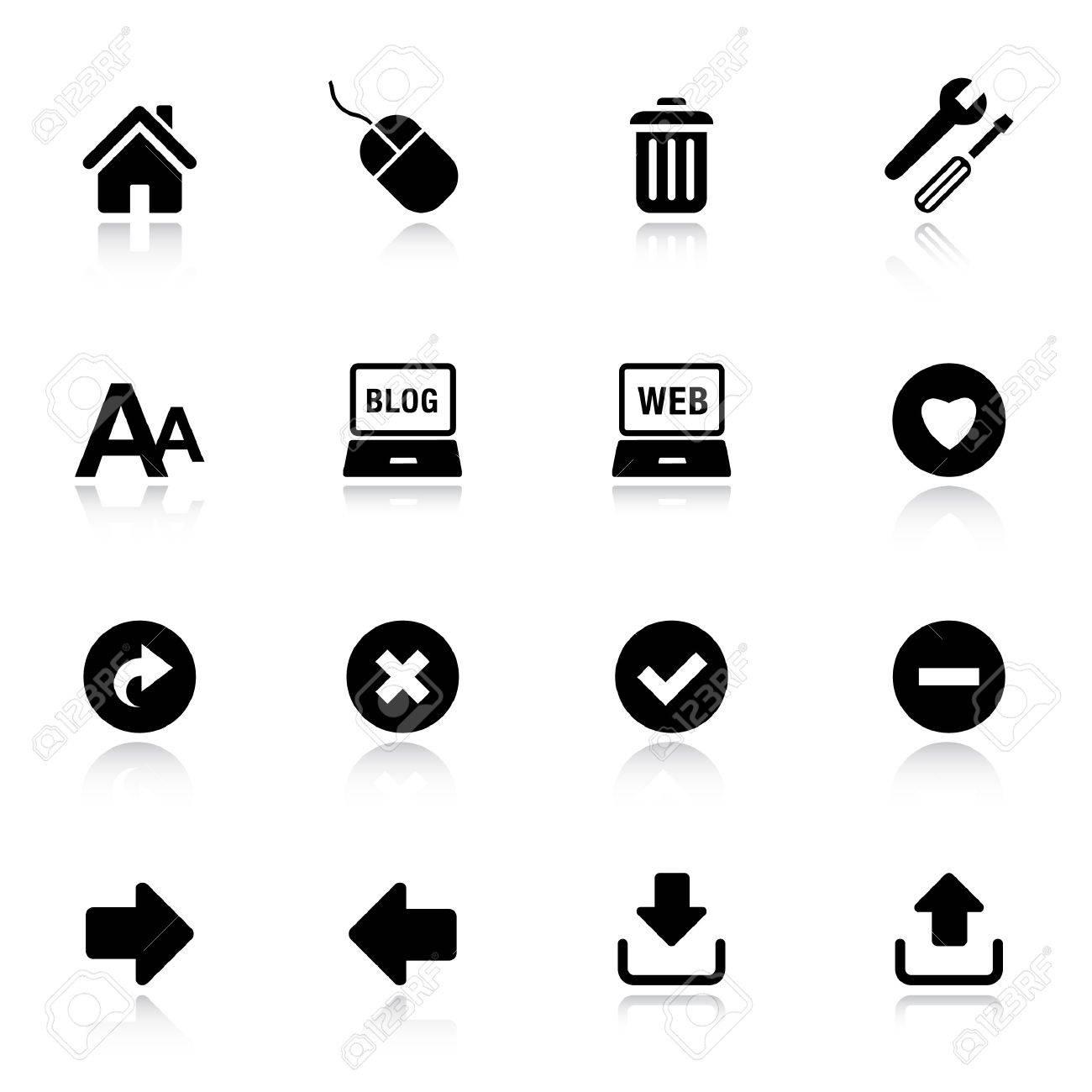 Basic - Classic Web Icons - 9701433