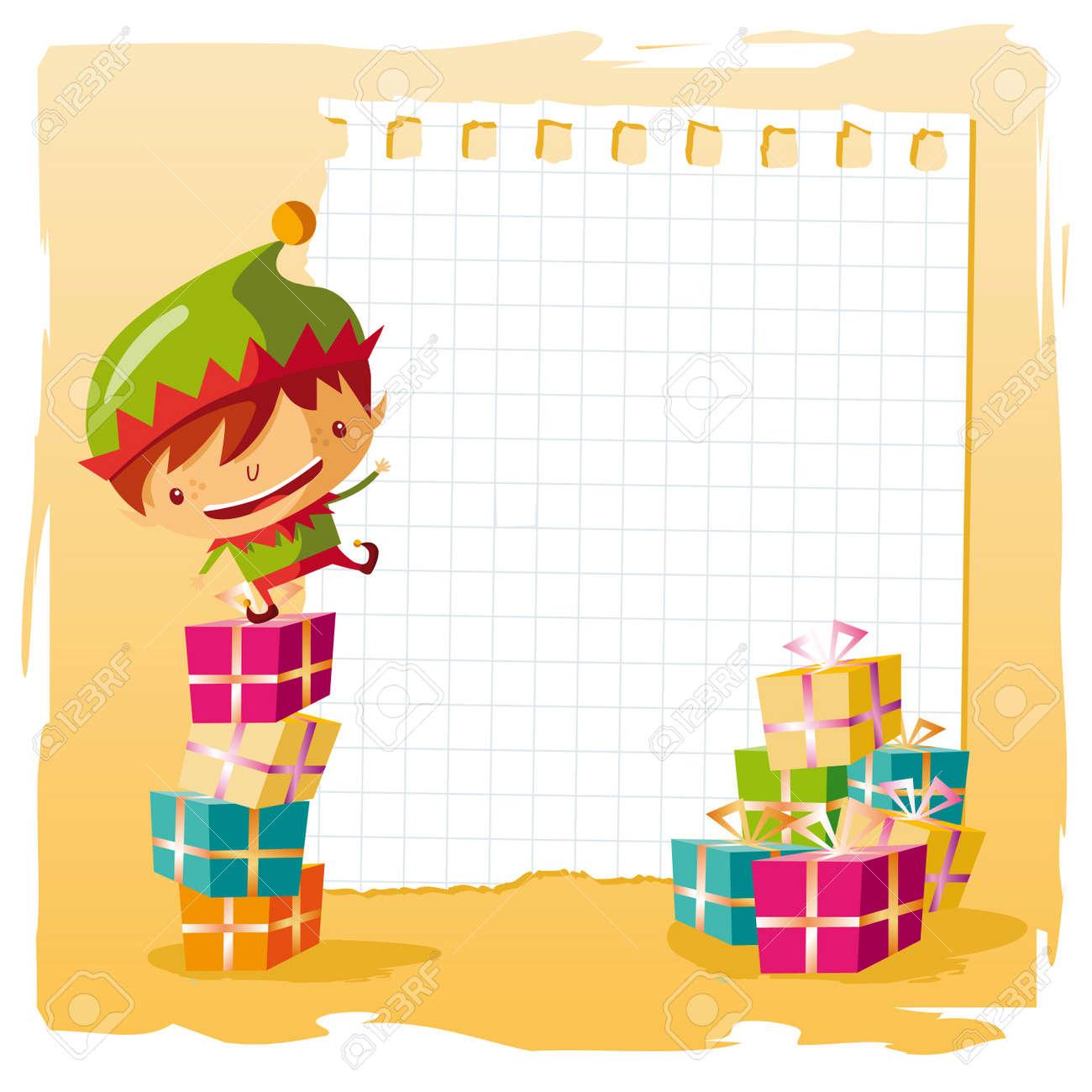 Free Christmas Wish List christmas elf and his wish list – Free Christmas Wish List