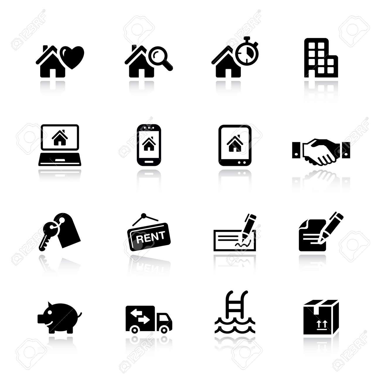 Basic - Real estate icons - 11475999