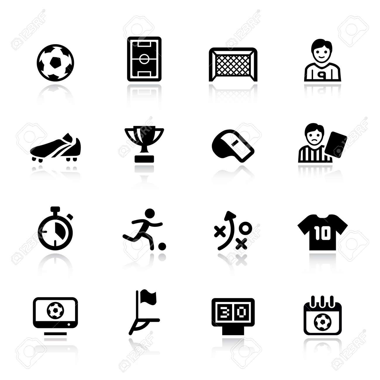Basic - Soccer Icons - 12488381