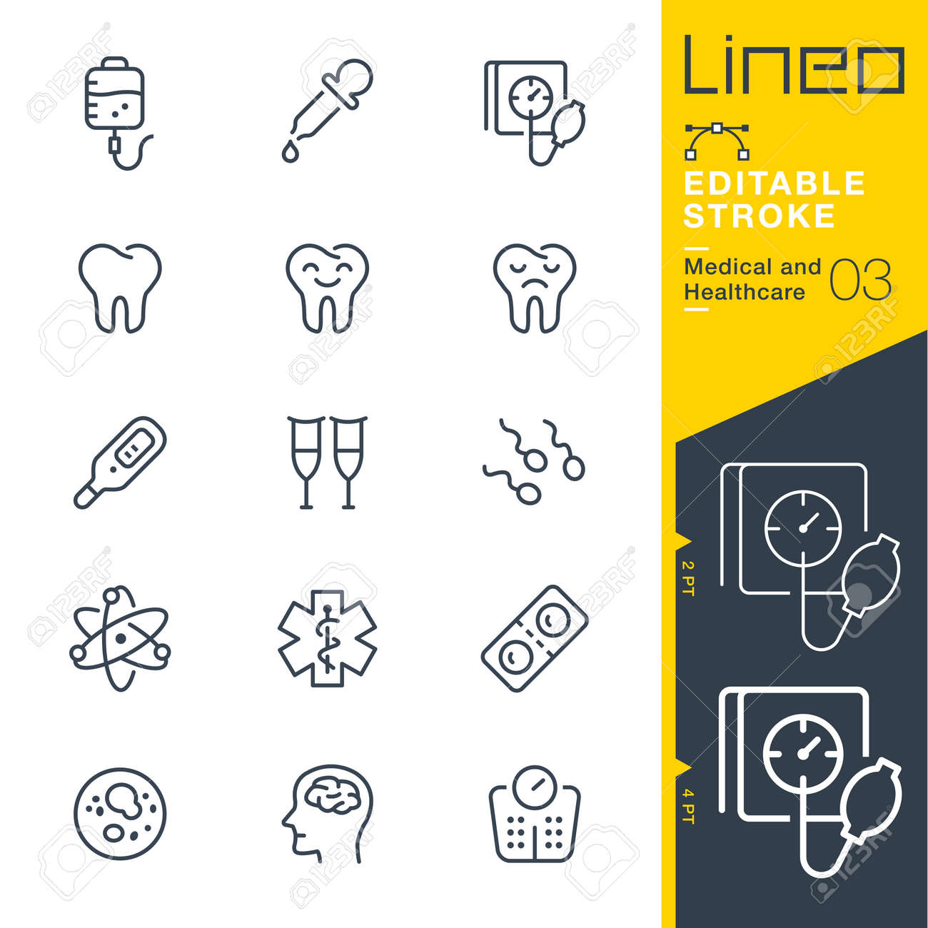 Lineo Editable Stroke - Medical and Healthcare line icon Vector Icons - Adjust stroke weight - Change to any color - 85190487