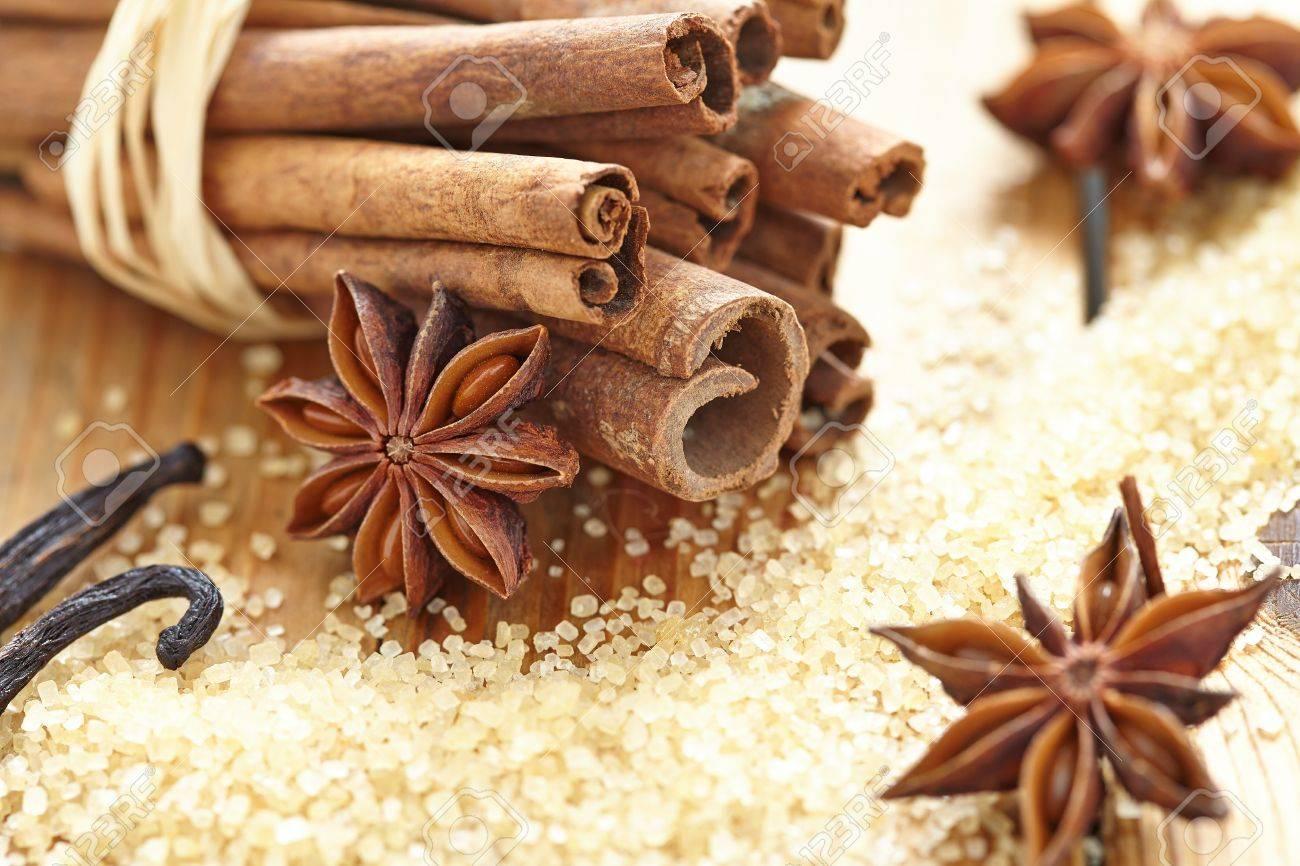 Brown Sugar Cinnamon Cinnamon Sticks Brown Sugar