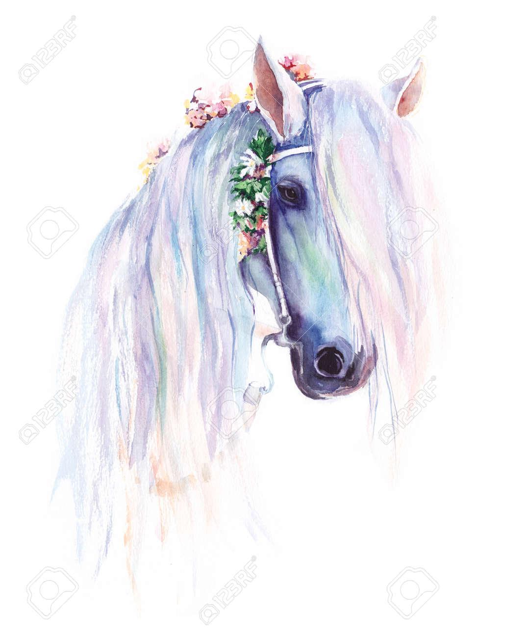 Atemberaubend Pferd Färbendes Bild Zeitgenössisch - Druckbare ...