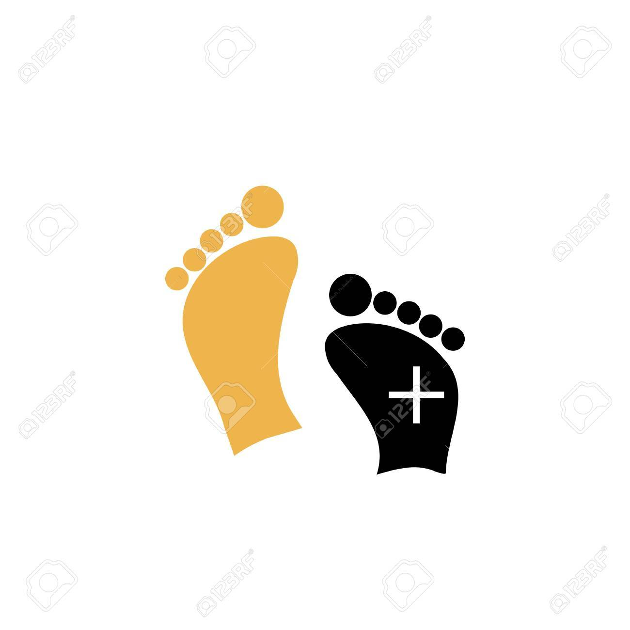 Foot care Stock Vector - 19865206