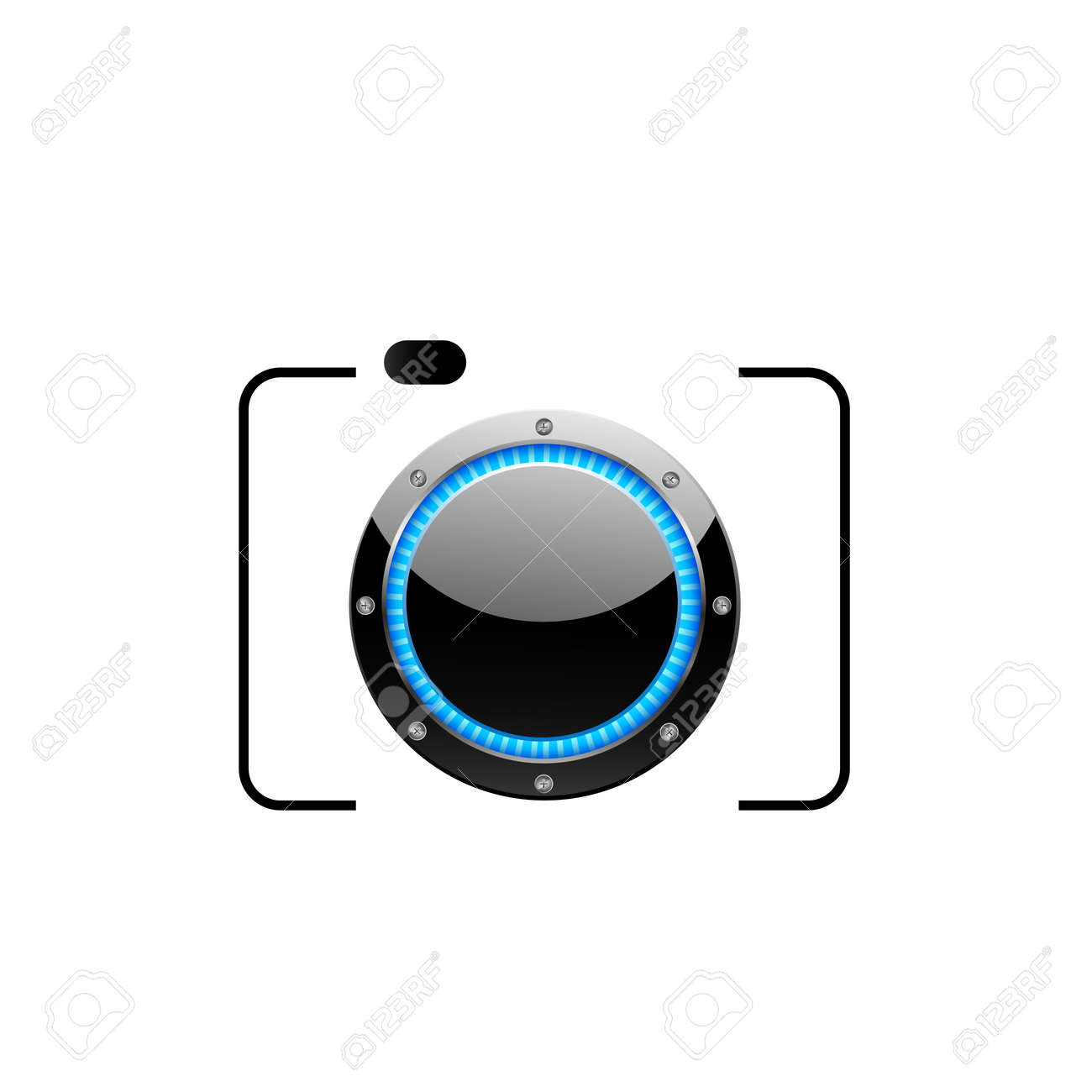 Digital camera Stock Vector - 19864692