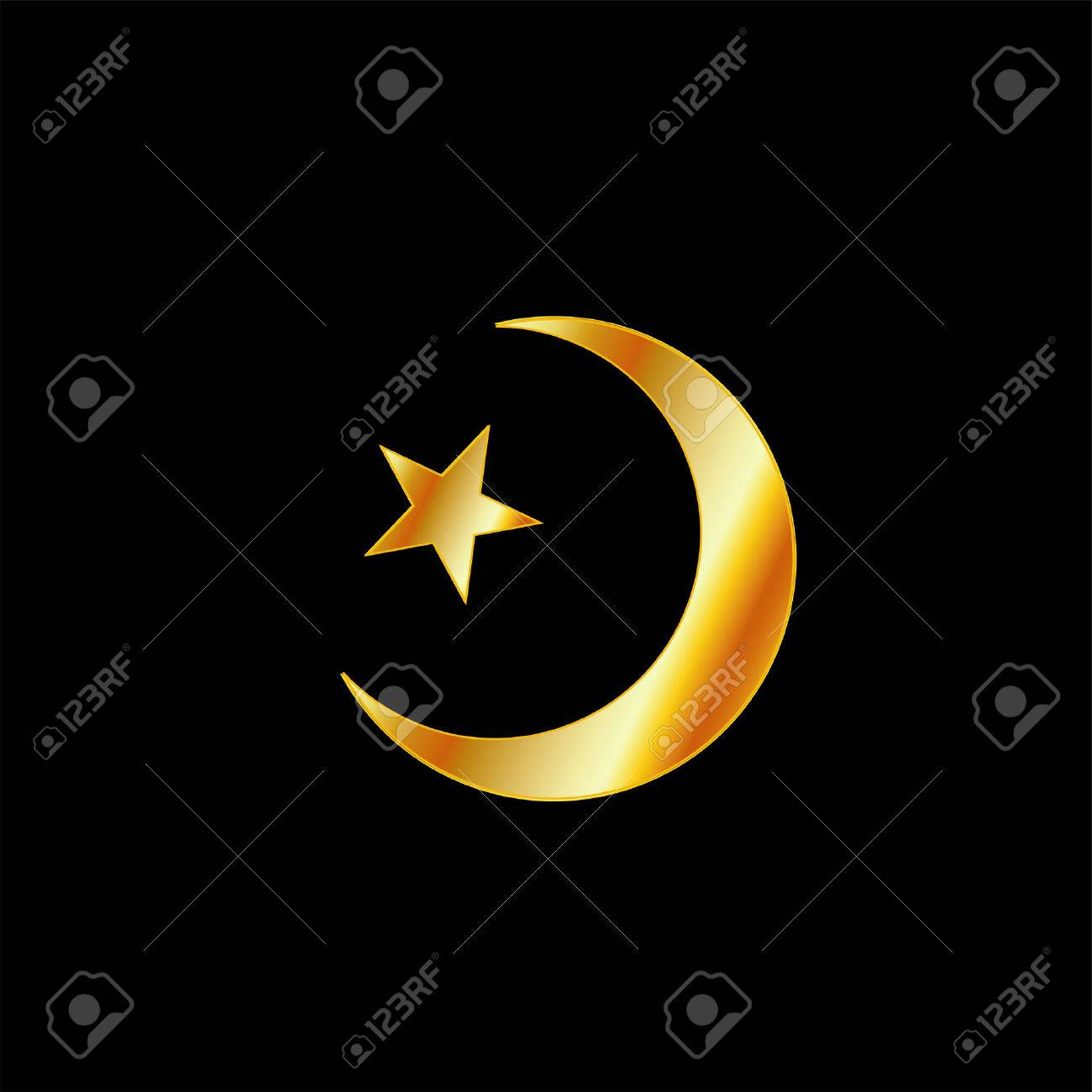 Symbol of islam a crescent moon and star royalty free cliparts symbol of islam a crescent moon and star stock vector 26561146 biocorpaavc Gallery
