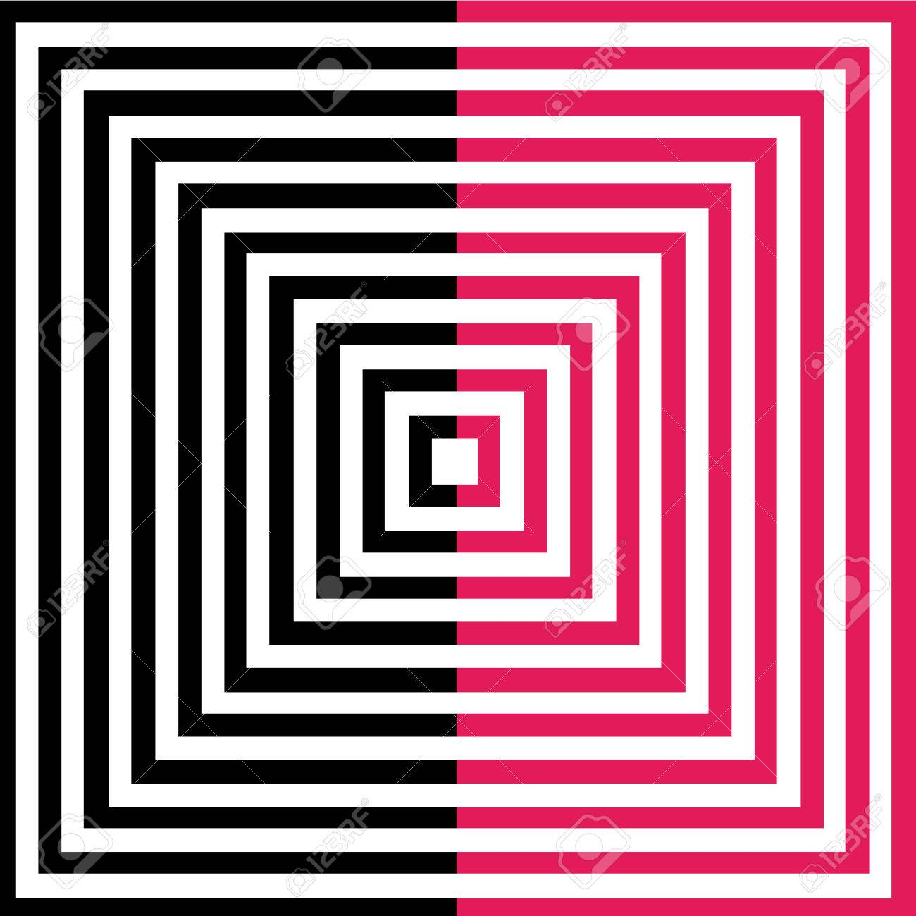 Optical illusion for hypnotherapy Stock Vector - 27673263
