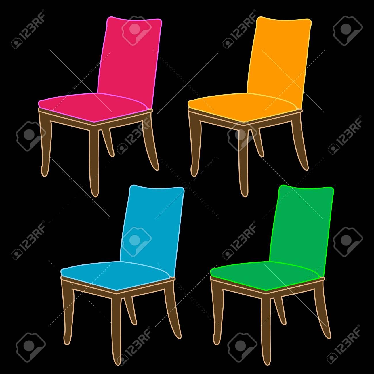 Ausgezeichnet Bunte Küchenstühle Zum Verkauf Galerie - Küche Set ...