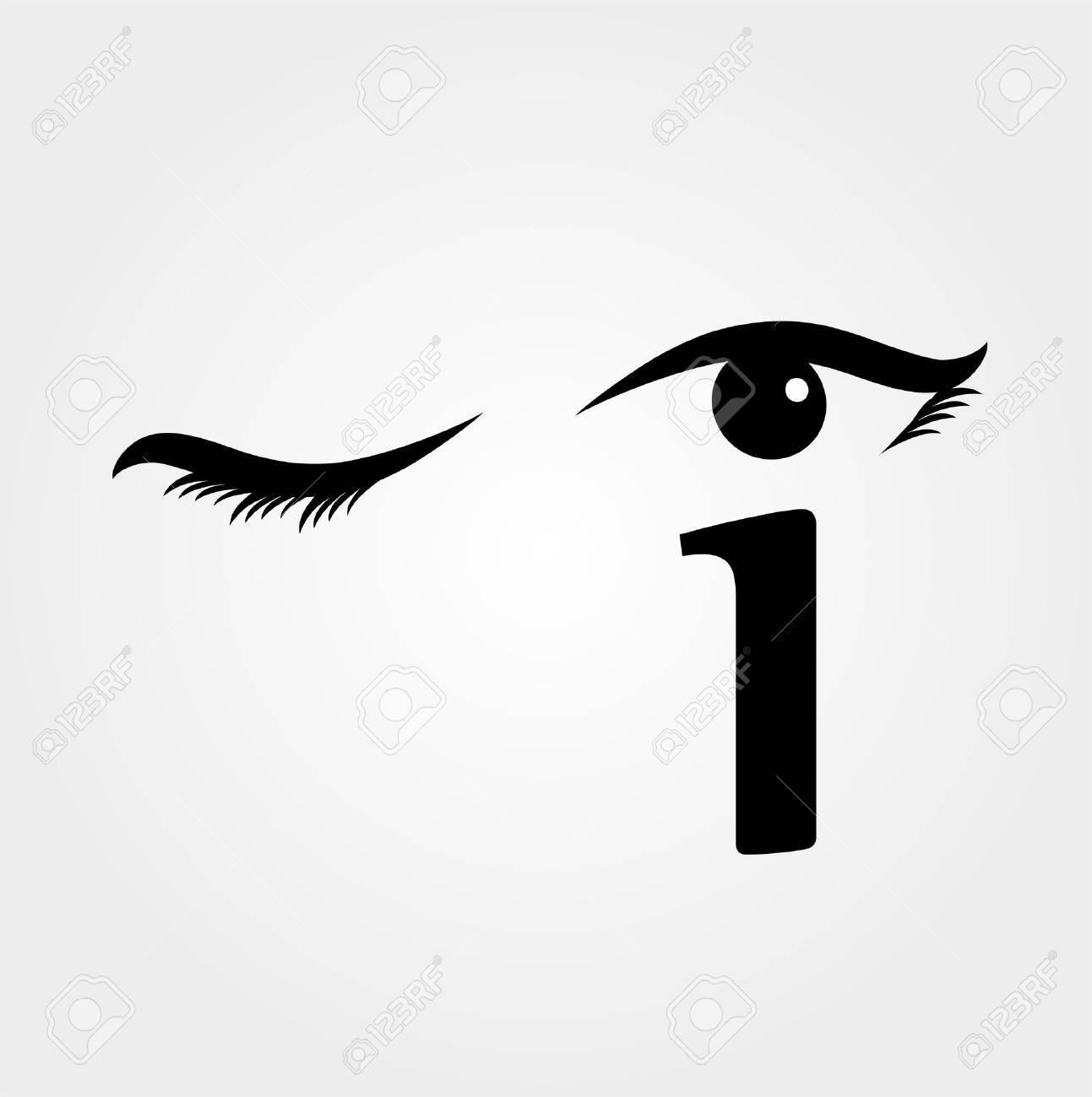 私眼球を形成文字で「まばたき」...