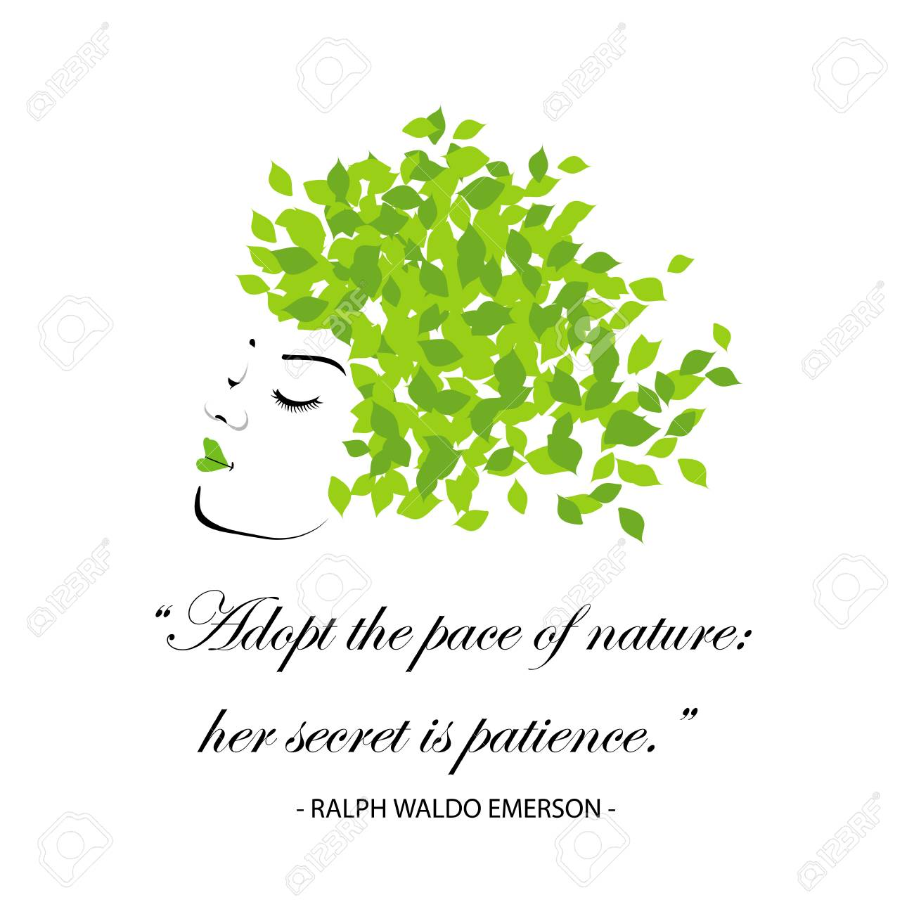 quotes for nature adopt the pace of nature her secret is