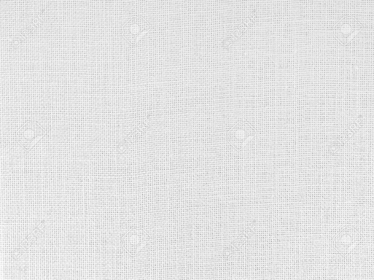 Close up of white woven fabric structure Standard-Bild - 15361026