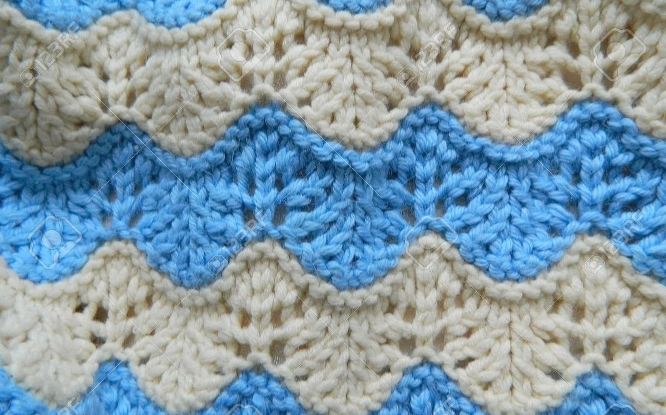 Knitted Pattern Spokes \