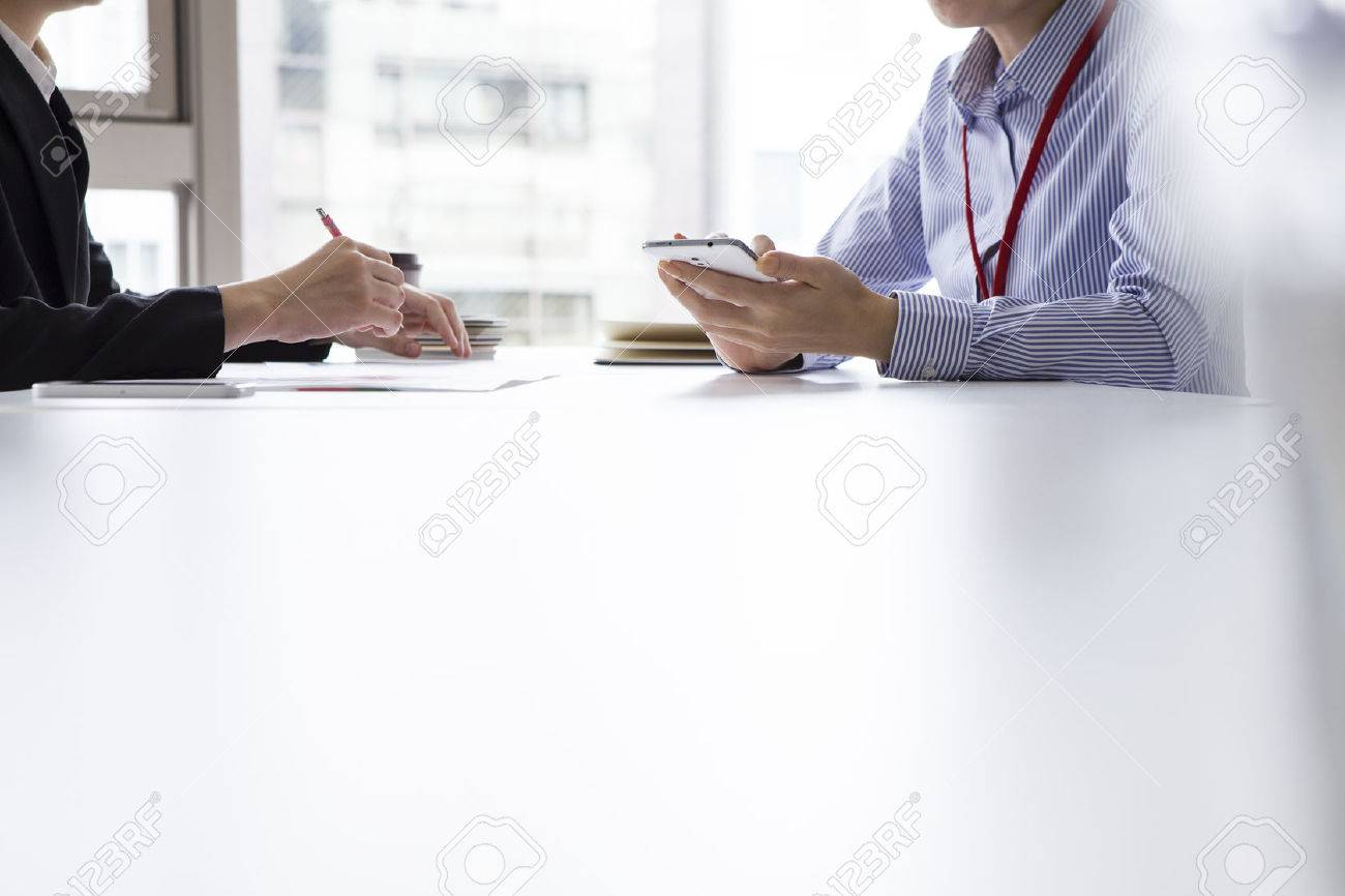 Business interview Stock Photo - 50252108