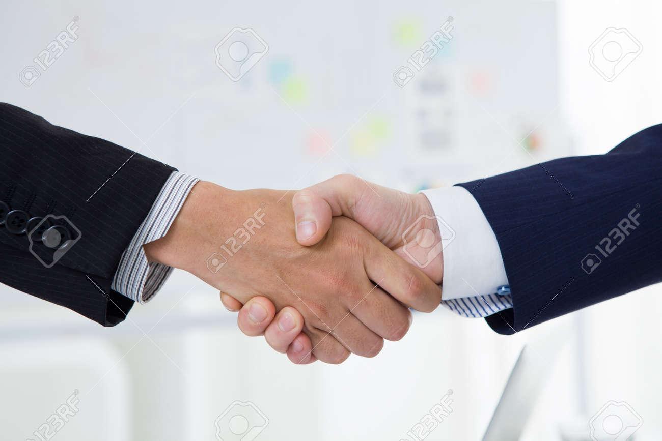 Business handshake Stock Photo - 50590934