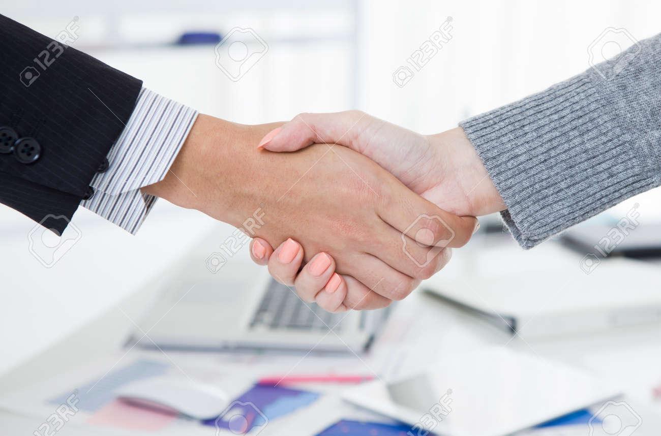 Business handshake Stock Photo - 50590937