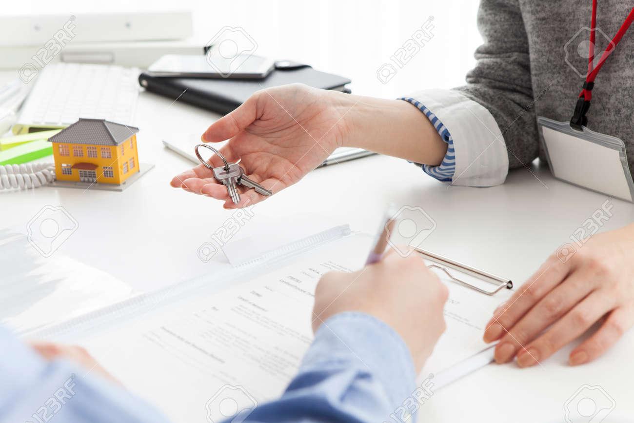 Consultation of Property Stock Photo - 52807758